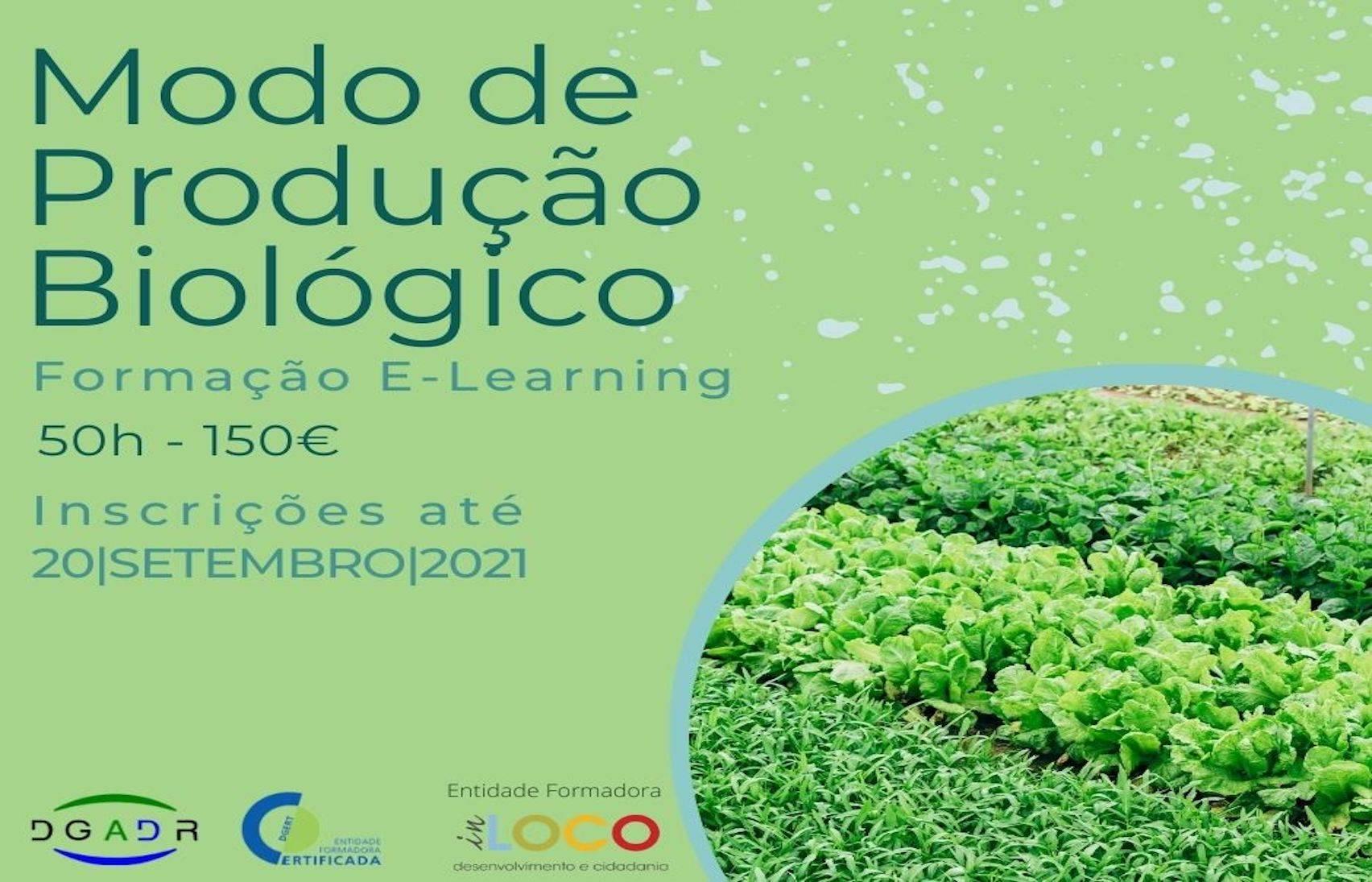 Formação E-Learning - Modo de Produção Biológico